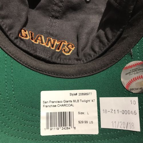 reputable site 87c92 ecc93 San Francisco Giants  47 Brand MLB Twilight Franchise L Relaxed Fitted Cap  Hat