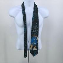 Vintage Whimsical M&Ms Candy I've Got The Blues Novelty Neck Tie USA Made  image 2