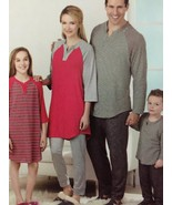 Simplicity Sewing Pattern 1285 Adults Teens Childs Knit Top Pants Size X... - $14.44