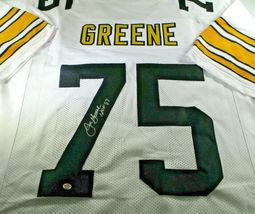 """MEAN"" JOE GREENE / NFL HALL OF FAME / HAND SIGNED SEELERS CUSTOM JERSEY / COA image 1"