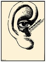 El Gran Golpe vintage Movie POSTER.Graphic Design.Ear.Wall Art Decoratio... - $10.89+
