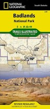 Badlands National Park: South Dakota, USA Outdoor Recreation Map Nationa... - $14.24
