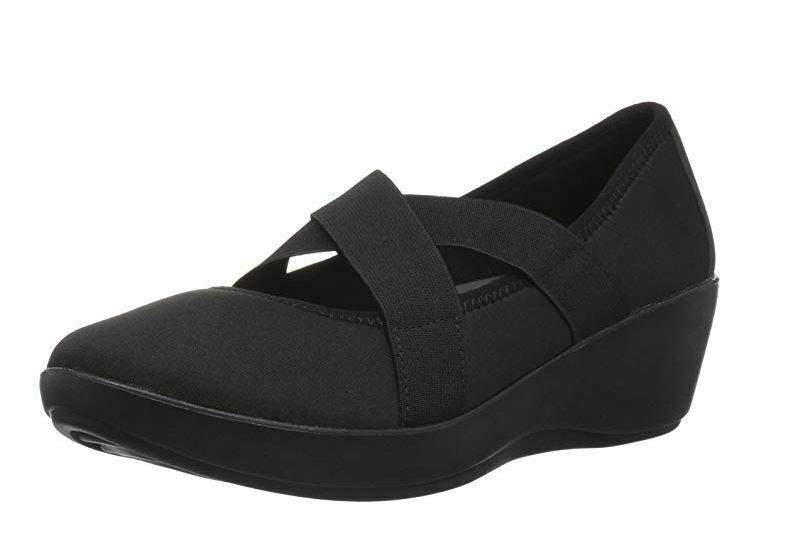 New Crocs Women's Busy Day Strappy Wedge Shoes Black Variety Size image 3