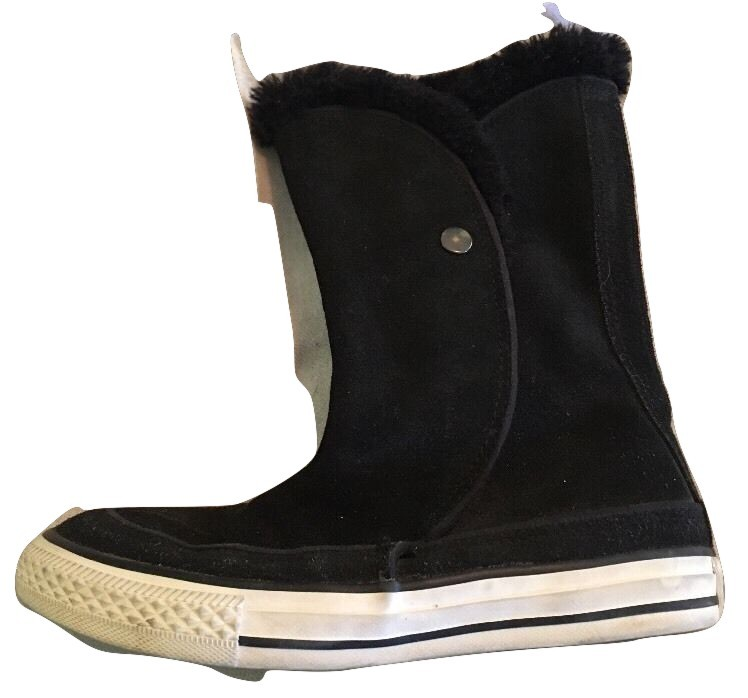 bbe39efc4580af Converse All Star Black Suede Boots Junior and 50 similar items. Img  4311621382 1501817843