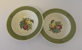 Metlox Poppytrail Vernon USA Provencial Fruit Green California Berry Bow... - $14.73