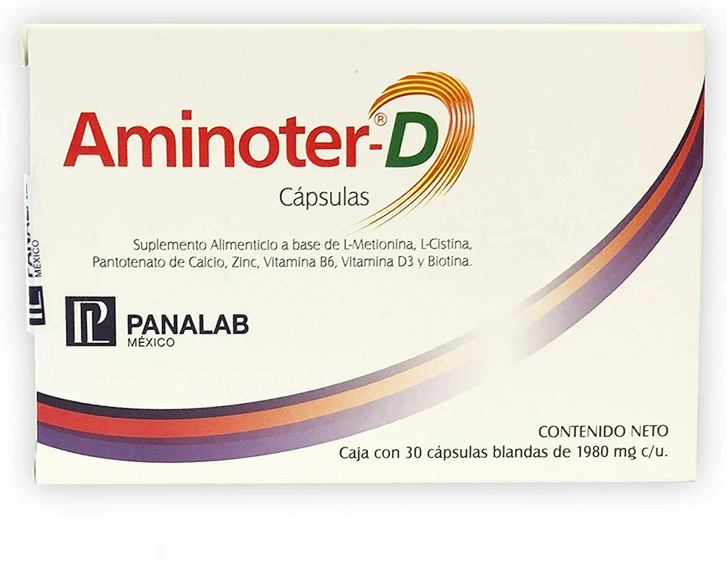 Primary image for Aminoter~D~Hair Care Treatment Capsules~Box of 30 capsules~Restore & Maintain