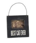 Best Cat Ever Mini Frame Primitives by Kathy Picture magnet wall standing - $4.95