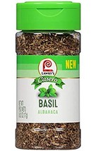 Lawry's Casero Basil - Albahaca - Single .62oz Bottle (17g) - $8.86