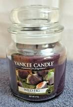 RETIRED Yankee Candle WILD FIG 14.5oz Medium Jar Candle RARE  NEW - $36.44