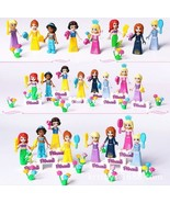 8pcs Fairy Tale Princess Girl Legoings Model Building Kits Doll Figures Kid - $19.55