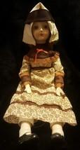 """Vintage Walda Porcelain Bisque And Cloth 18"""" Doll - $23.36"""