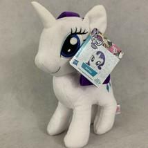 "My Little Pony Plush Rarity Stuffed Toy White Unicorn 10"" Hasbro - $14.82"