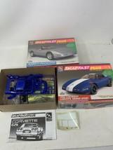 Corvette 1996 Collector Edition & Grand Sport 1:25 AMT/Ertl SnapFast Model Kit - $24.18