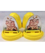 2 Old MacDonald Had a Farm Electronic Board Game Pink Pig Hay Stack Move... - $7.12