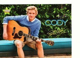 Cody Simpson teen magazine pinup clipping shorts guitar Tiger Beat Findi... - $1.50