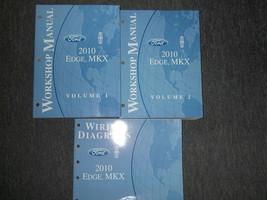 2010 Ford Orlo Lincoln MKX Servizio Negozio Riparazione Officina Manuale... - $98.95