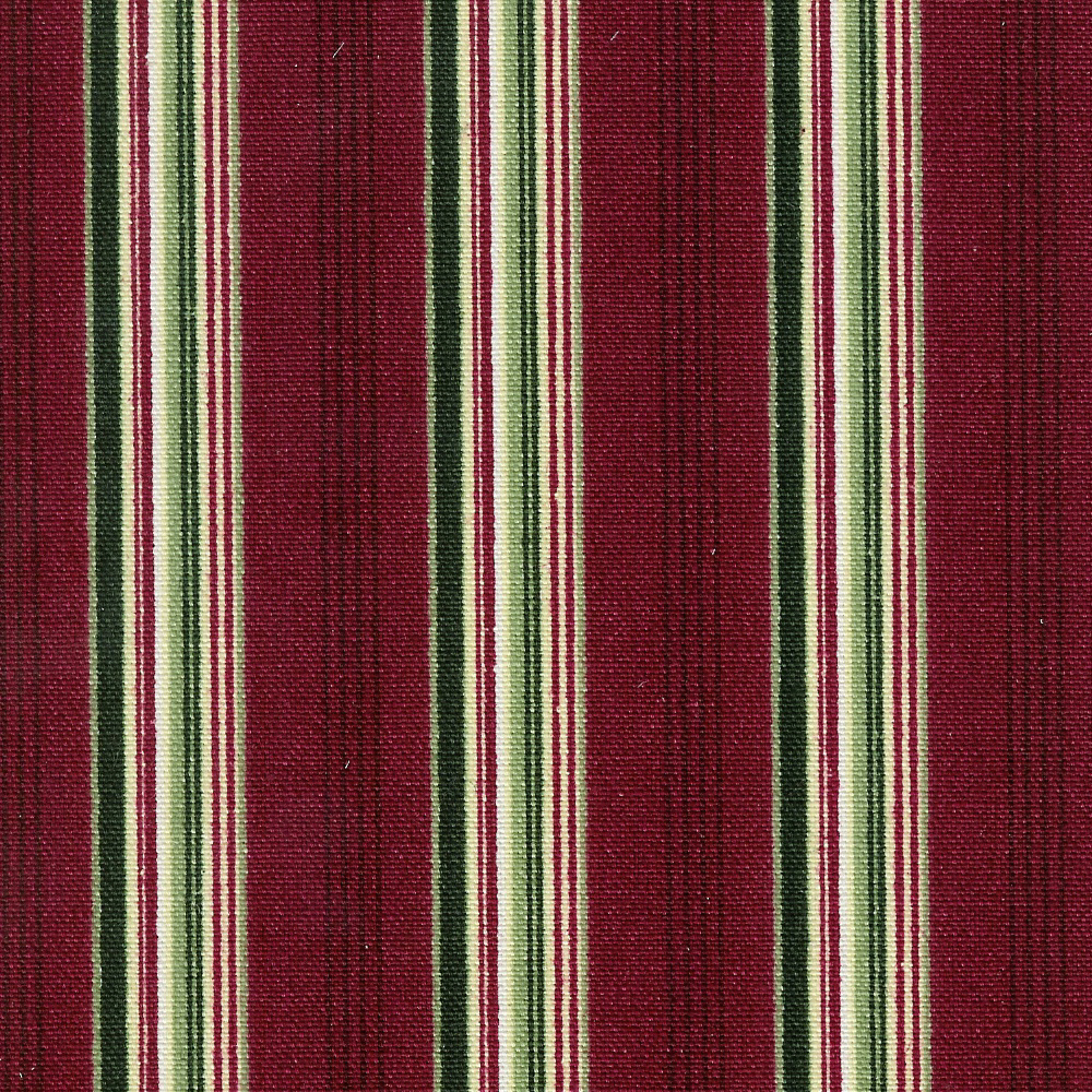 Holiday stripe swatch