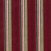 Longaberger 2004 Greetings Holiday Hostess Basket Striped Fabric Liner New - $15.79