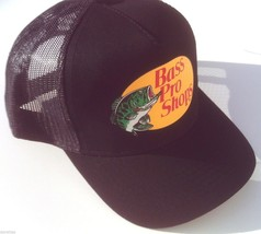 NEW! Black Cap by BASS PRO SHOPS Adult Unisex MESH Style Trucker Hat - $24.63