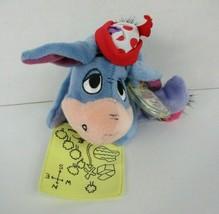 Disney Winnie the Pooh Fortune Findin' Eeyore Plush Star Bean Mattel New... - $12.61