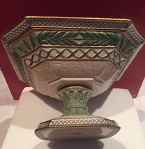 """FITZ AND FLOYD 12"""" x 7.5"""" GREGORIAN Collection Centerpiece Bowl New In Box - $74.95"""