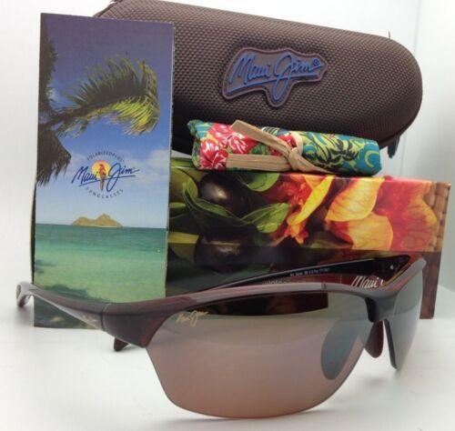 Nuevas Polarizadas Maui Jim Gafas de Sol Sexy Tierra Mj 426-26 Rootbeer Hcl image 10