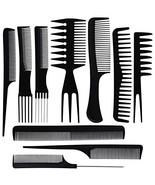 BS-MALL 10PCS Hair Stylists Professional Styling Comb Set Variety Pack G... - $7.19