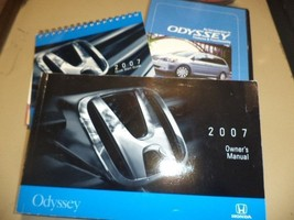 Owners Manual OEM With Case For 2007 Honda Odyssey 638065 - $37.42