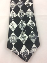 Vintage 1997 Looney Tunes Stamp Collection Necktie Men's Tie Bugs Bunny - $12.18