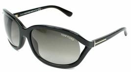 Tom Ford VIVIENNE Shiny Black / Gray Sunglasses TF278-01B 278 01B 61mm - $155.82
