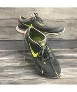 Nike Flex Supreme TR4 Flywire Womens Training Athletic Shoes Gray Volt S... - $14.80
