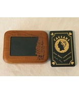 Pocono Mountains Cove Haven Playing Cards with Wooden Engraved Picture F... - $27.99