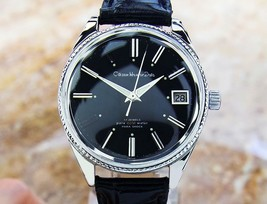 Citizen Homer Date Vintage Rare Stainless Steel 37mm Manual 1960s Watch ... - $833.15