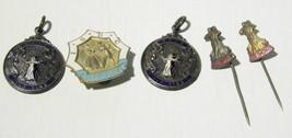 Vintage National association of teachers of dancing OLD TIME- pins- UK - $46.40