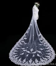 High Quality Vintage White/Ivory Long Wedding Veils with Comb - $39.99