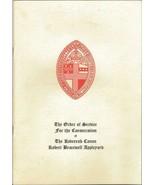 1968 Consecration for Bishop Robert Appleyard of Pittsburgh Program & Ti... - $74.61