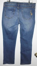 Phat Fashions Jeans 13W Silver Label Boot Cut Stretch Low Rise Denim Junior - $19.79
