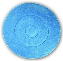 Impact BKL19 Microfiber Carpet Bonnet Pad, 19' Width, Blue (Case of 6) - $183.77