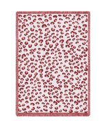 Fun Leopard Pink Throw - 70 x 53 Blanket/Throw - $59.95