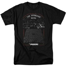 The Shining t-shirt Overlook Hotel retro 80s Stephen King graphic tee WBM562 image 1