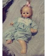 "ALEXANDER Blond Girl Baby Doll Vintage open close hazel eyes 21"" Corolle... - $44.55"