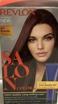 Revlon Salon Color 4B Burgundy With Color Booster Kit Permanent - $9.21