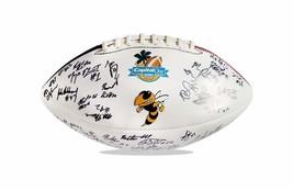 2008 Georgia Tech Yellow Jackets team signed football W/Cert autographed 1 - $203.94