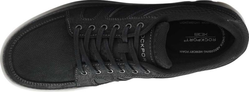 Rockport Get Your Kicks Mudguard Sneaker (Men's) - New Black Textile - NEW