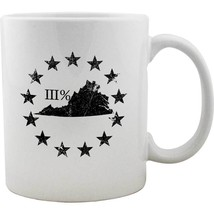 Original Virginia State III Percenter Mug - $16.99