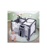 Folding Portable Baby Playpen w/ Changing Table Whirligig Storage Basket... - $119.98+