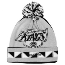 NHL Los Angeles Kings Double Sided Knitted Hat Ski Cap Jacquard Cuff Beanie image 2