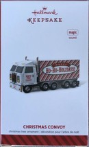 Hallmark 2014 Christmas Convoy Ho Ho Ho Trailer Truck Magic Sound - New - $9.95