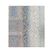 Mosaic Window Film Frosted Privacy Glass Covering Door Window Tint Peel ... - $17.81