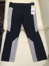 NWT UNDER ARMOUR STUDIO LUX TIGHT SKINNY FITTED CAPRIS WOMENS XS BLACK/GRAY - €48,24 EUR
